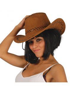 Sombrero Vaquero Marrón Tienda de disfraces online - venta disfraces