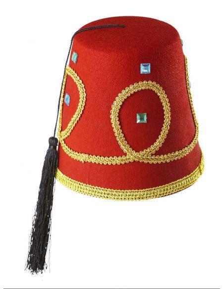 Sombrero Fez Turco Lujo Tienda de disfraces online - venta disfraces