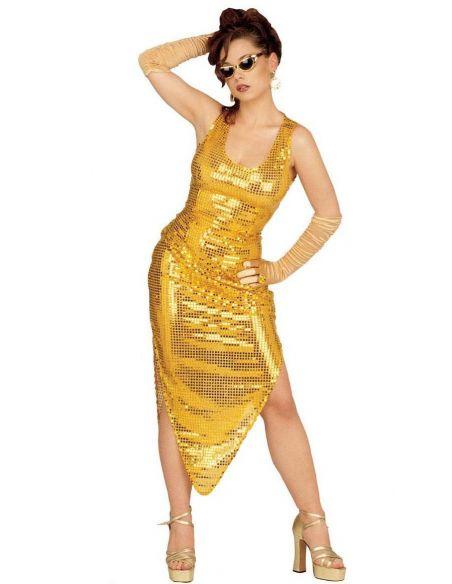 Vestido de Charleston en Lentejuelas Talla XL Tienda de disfraces online - venta disfraces