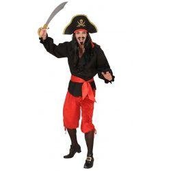 Pantalon Pirata en Rojo