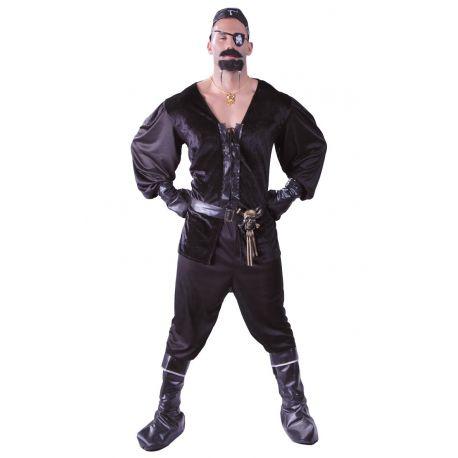 Disfraz de Pirata Negro adulto Tienda de disfraces online - venta disfraces