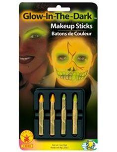 Barras de maquillaje fluorescente Tienda de disfraces online - venta disfraces