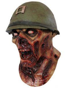 Máscara zombie Capitan Lester