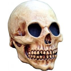 Máscara cráneo de esqueleto