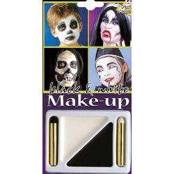 Kit Maquillaje blanco y negro