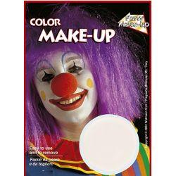 Maquillaje blanco crema