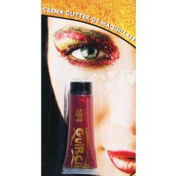 Crema Glitter Rojo