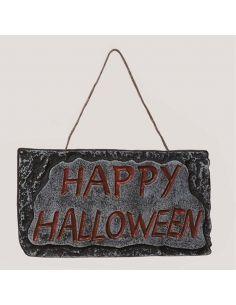 Letrero happy halloween Tienda de disfraces online - venta disfraces