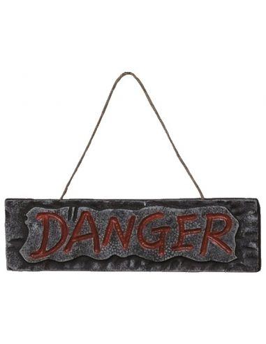 Letrero danger Tienda de disfraces online - venta disfraces
