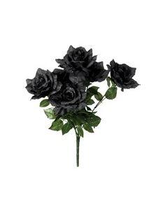 Ramo de rosas negras Tienda de disfraces online - venta disfraces