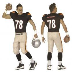 Disfraz Jugador Futbol Americano Talla XL Tienda de disfraces online - venta disfraces