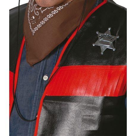Estrella Sheriff Metálica Tienda de disfraces online - venta disfraces