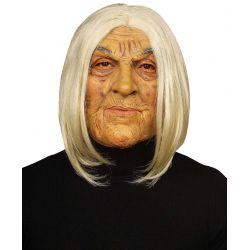 Máscara con Peluca de Viejo