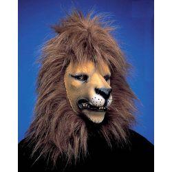 Máscara León con Pelo