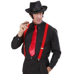 Corbata en Raso Rojo