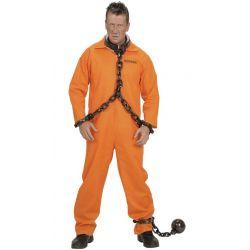 Disfraz de Convicto en Naranja