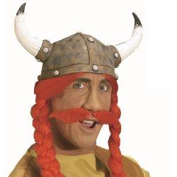 Bigote Rojo Adhesivo