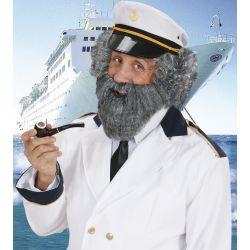 Barba con Bigote Canoso