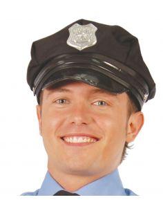Gorra Policia Negra Tienda de disfraces online - venta disfraces