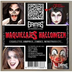 Kit Maquillaje Halloween al...