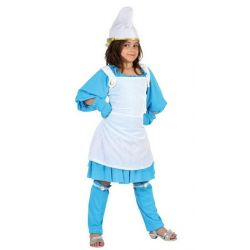 Disfraz Gnoma Azul infantil