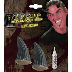 FX Cuernos Diablo Negros