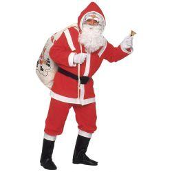 Disfraz Papa Noel de Lujo...