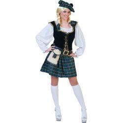 Disfraz de Escocesa Verde Tienda de disfraces online - venta disfraces