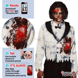 Disfraz Novio Zombie...