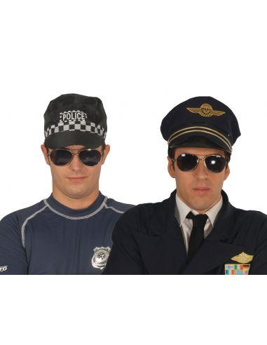 Gafas Piloto o Policía Tienda de disfraces online - venta disfraces