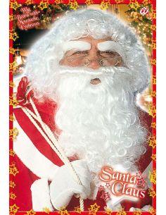 Peluca con Barba y Bigote Papá Noel Tienda de disfraces online - venta disfraces