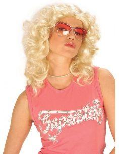 Peluca Beverly Hills Rubia Tienda de disfraces online - venta disfraces