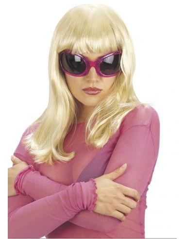 Peluca Patsy Melena con Flequillo Rubia Tienda de disfraces online - venta disfraces