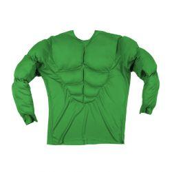 Camisa Super Músculo verde