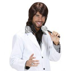Peluca 70s Pop Star Benny Tienda de disfraces online - venta disfraces