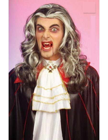 Peluca Vampiro Larga con Mechas Canosas Tienda de disfraces online - venta disfraces