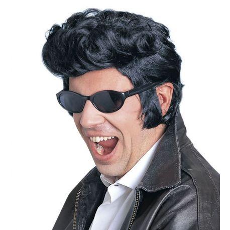 Peluca Elvis negra Tienda de disfraces online - venta disfraces
