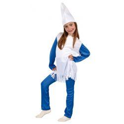Disfraz Enanita Azul infantil