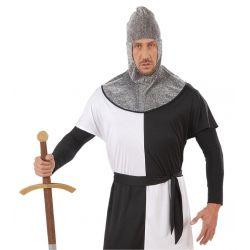Capucha Guerrero Medieval Adulto Tienda de disfraces online - venta disfraces