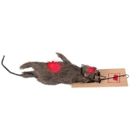 Rata Muerta con cepo