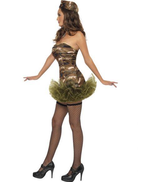 Disfraz soldado sexy para mujer