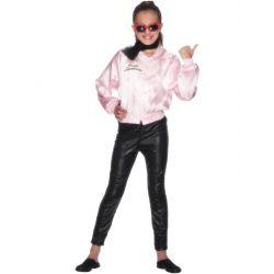 Cazadora Pink Ladies Infantil Tienda de disfraces online - venta disfraces