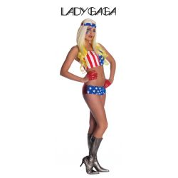 Disfraz Lady Gaga Americana Tienda de disfraces online - venta disfraces