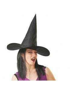 Sombrero Bruja con Pelo adulto Tienda de disfraces online - venta disfraces