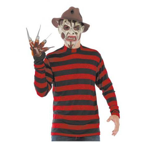 Camiseta Freddy Krueger Tienda de disfraces online - venta disfraces