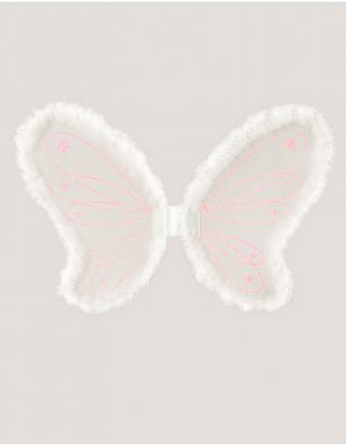 Alas Blancas con Marabú 65 x 44 cm. Tienda de disfraces online - venta disfraces