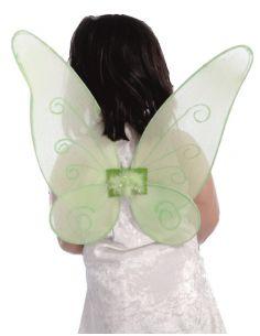 Alas Campanilla Verdes 46 cm.  Tienda de disfraces online - venta disfraces