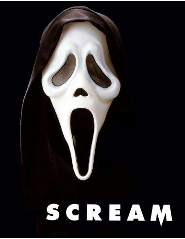 Mascara de Scream con Capucha