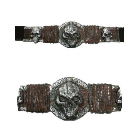 Cinturón calaveras