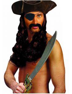 Bigote con Parche Pirata